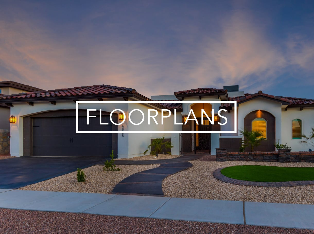Bic homes el paso home builders new home builder el paso for New home builders el paso