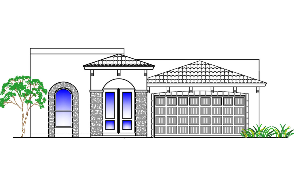 224.18p Beaumont Front Elevation