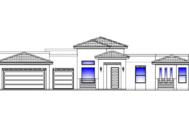 Santa Monica Front Elevation