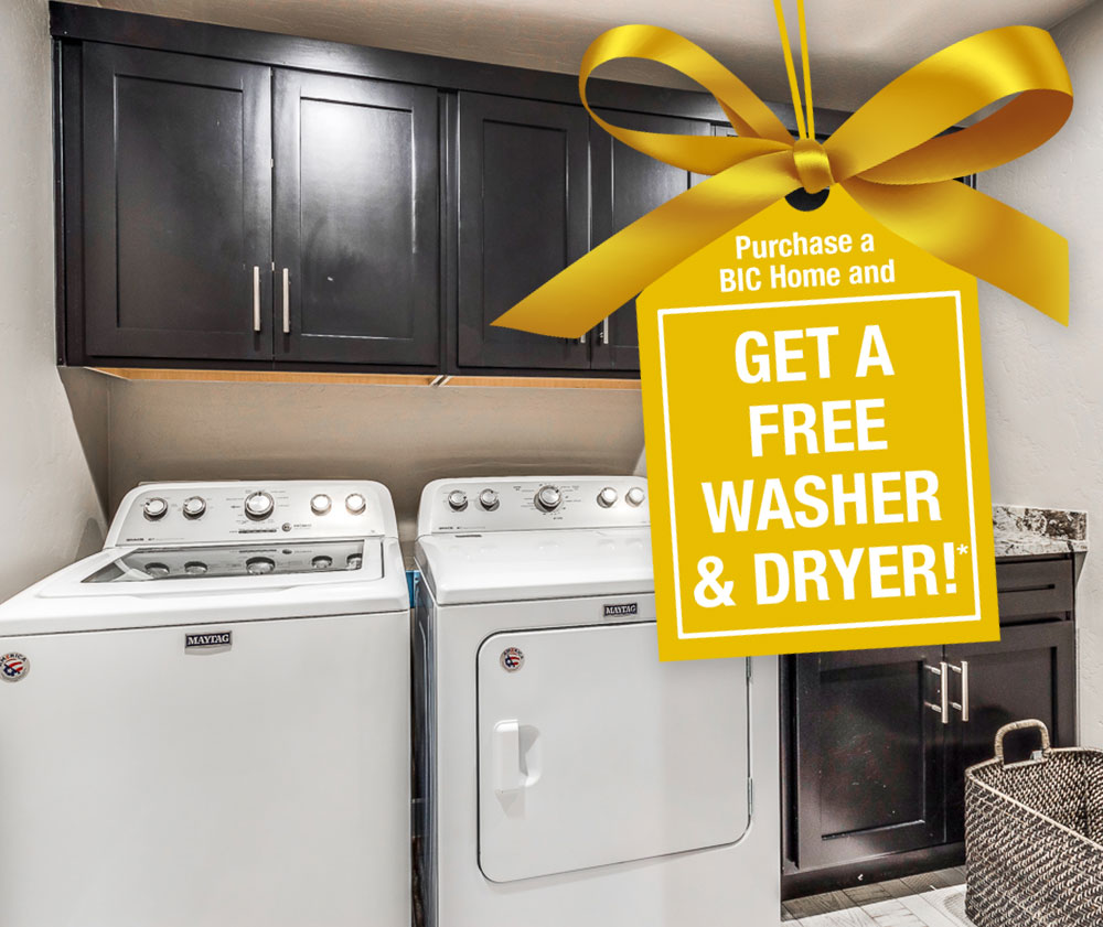 Get a Free Washer & Dryer!